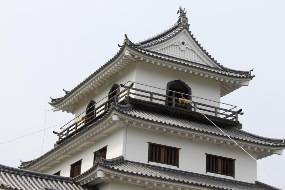 三階櫓(天守閣)上部