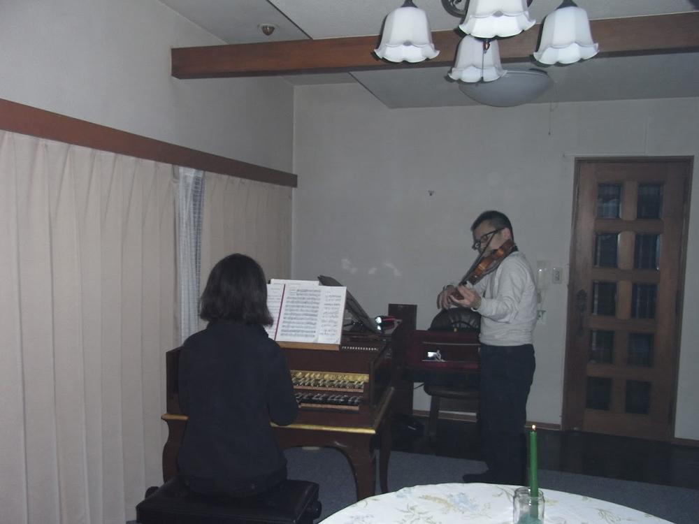 2011年3月13日 仙台市内自宅にてコンサート
