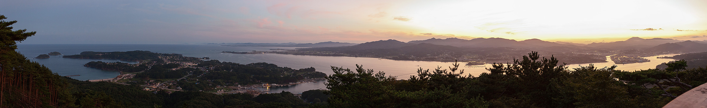 亀山からの眺望