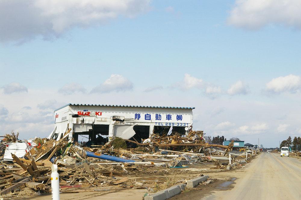 2011年3月26日仙台市若林区荒浜