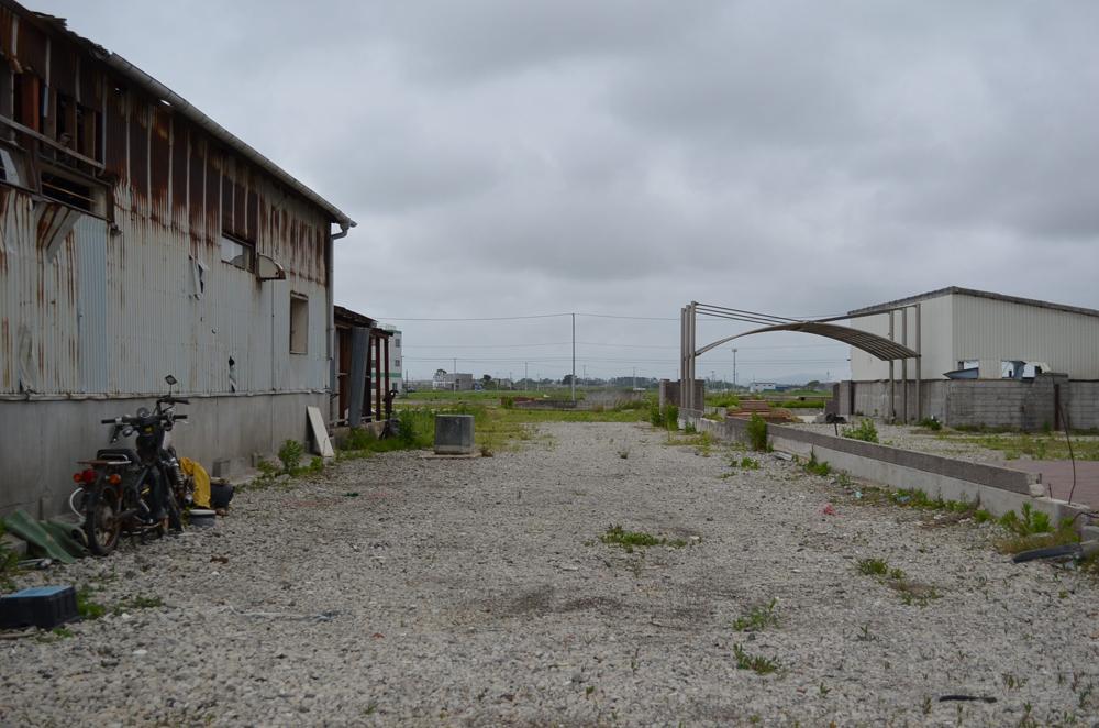 定点観測写真2012年閖上1丁目