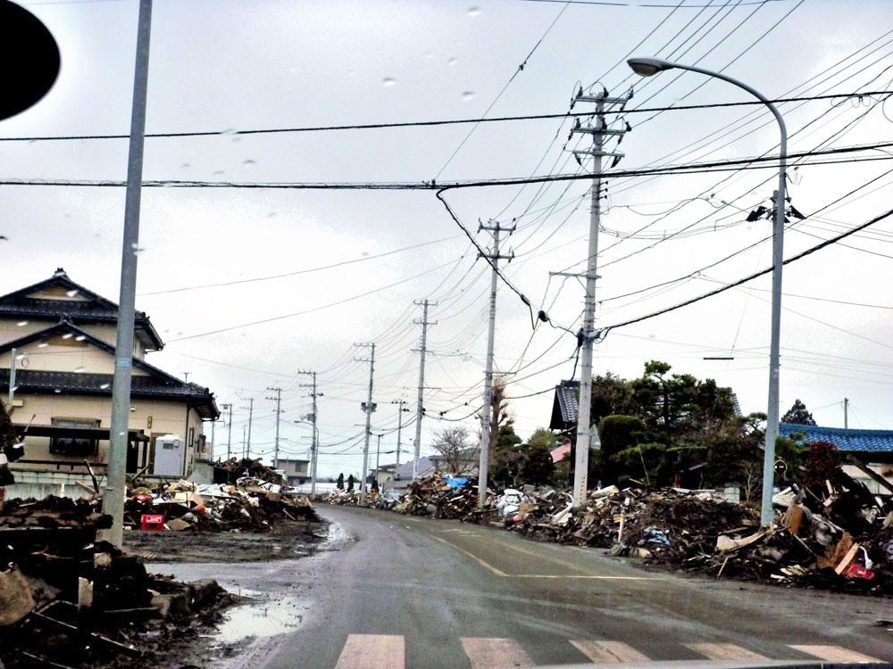 2011年4月9日仙台市若林区荒浜