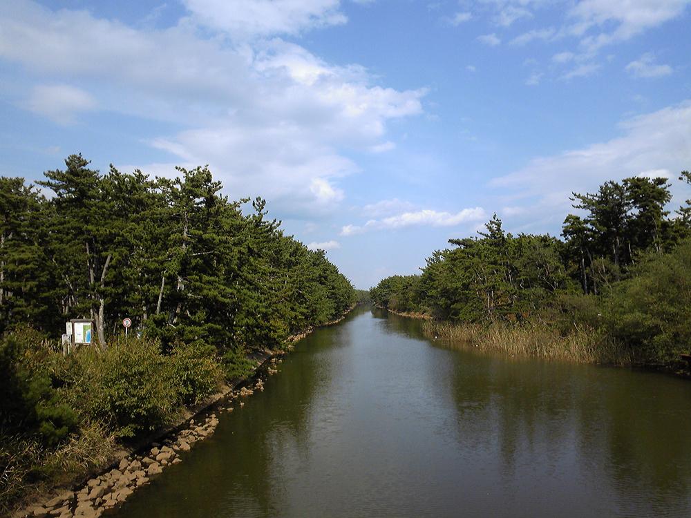 2009年10月貞山堀