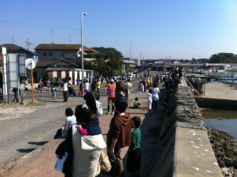 松島マラソン大会開催
