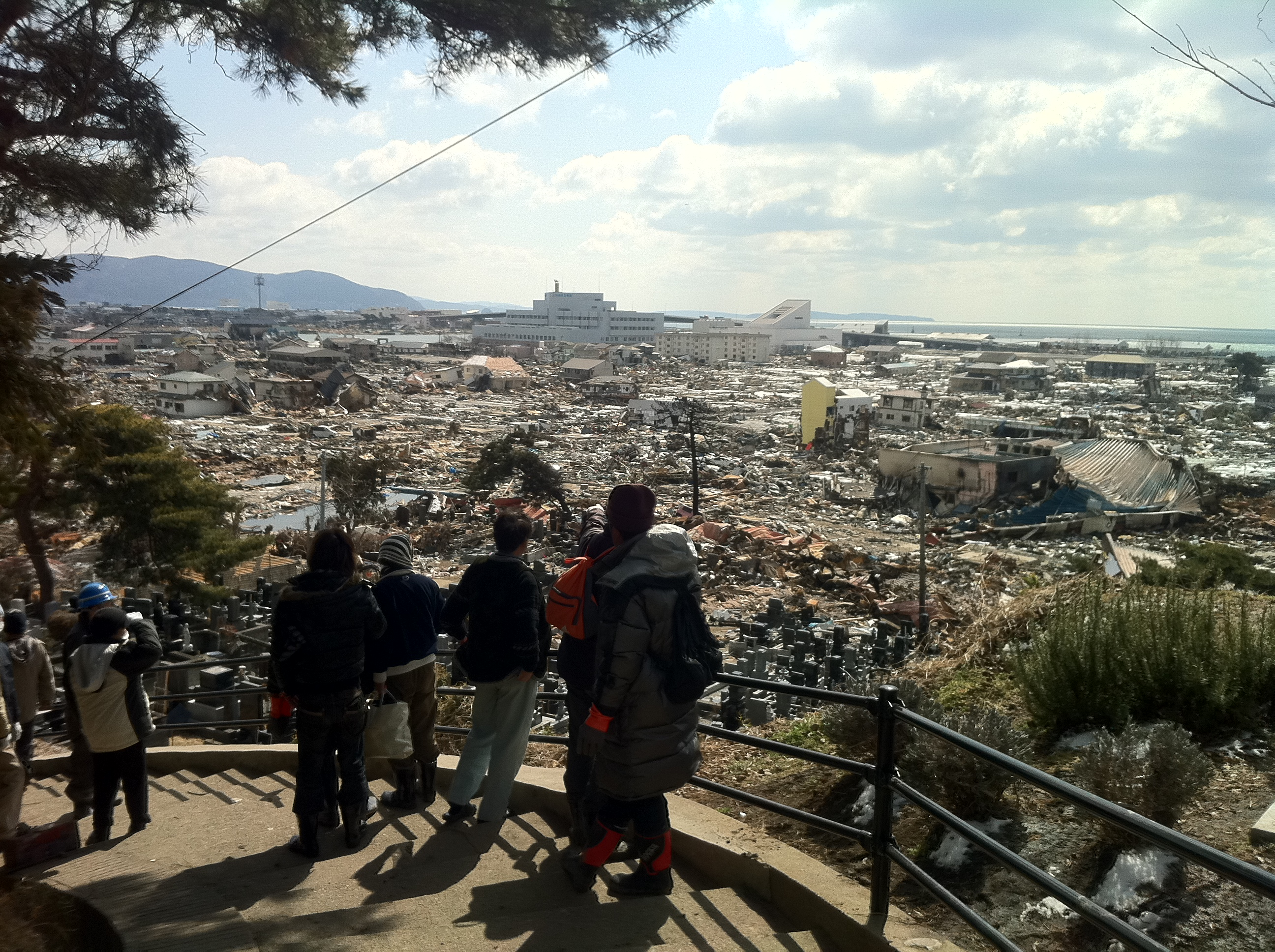 2011年3月17日から18日の仙台~石巻往復の記録