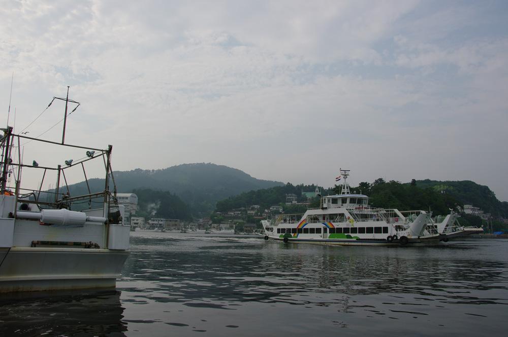 2013年8月気仙沼港