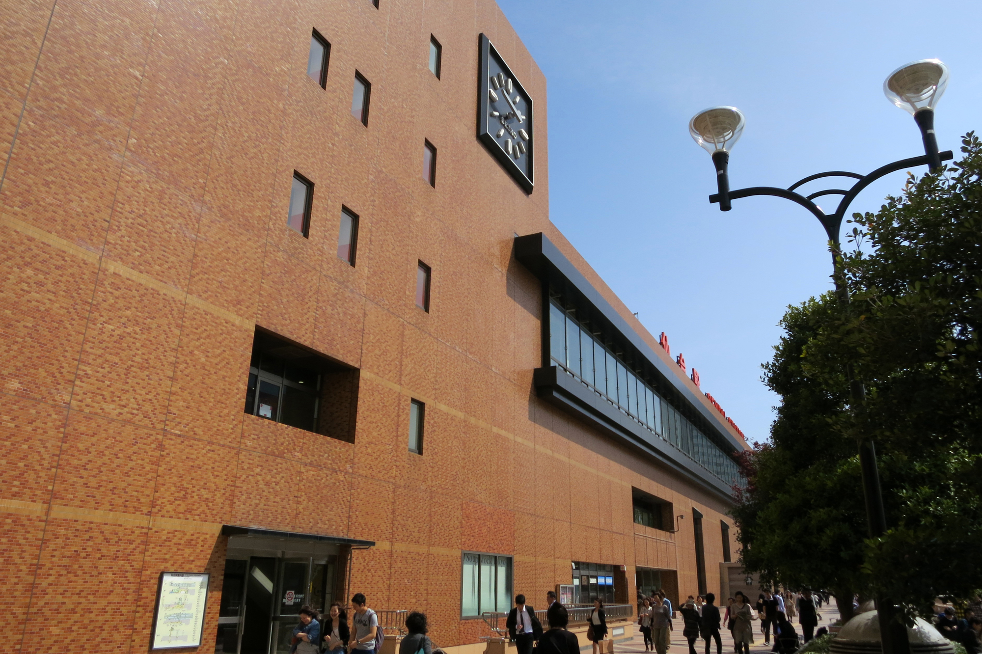 1年後の仙台駅
