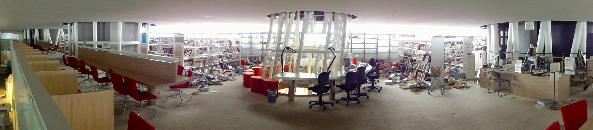 4階図書館パノラマ