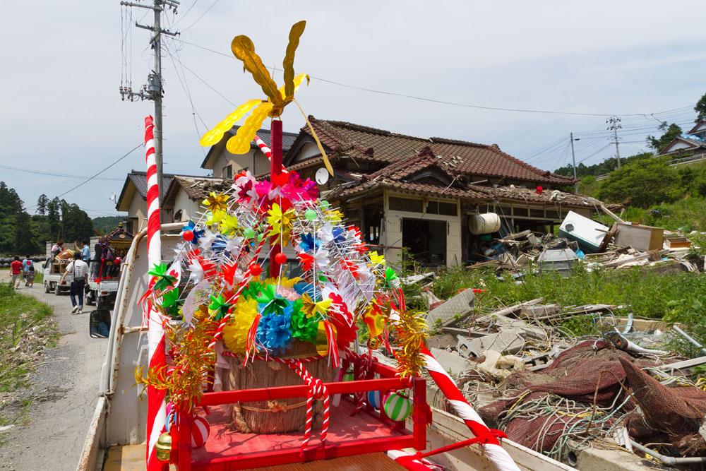 石巻市小渕浜 五十鈴神社御祭典