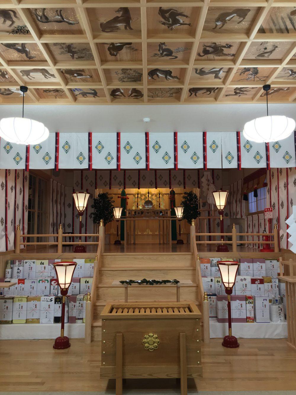 福島県飯舘村の、山津見神社へ行ってきました