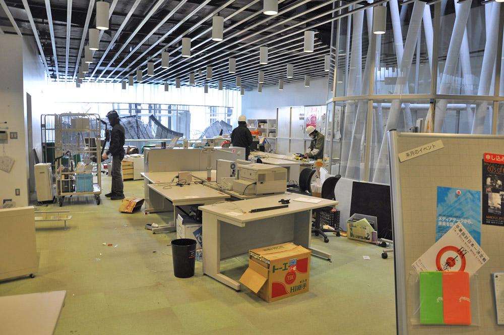 7階オフィスの移転作業