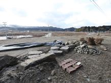 陸前高田定点観測写真14〈川原花壇〉