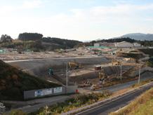 陸前高田定点観測写真26〈高台造成地 高田一中裏〉