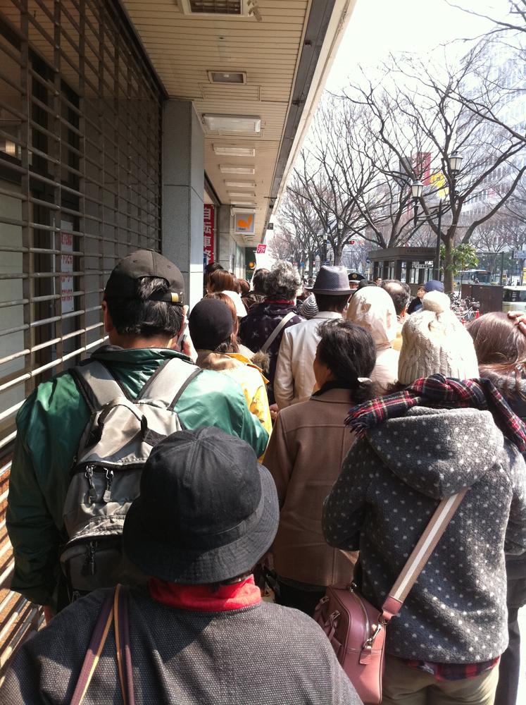2011年3月30日ダイエー仙台店