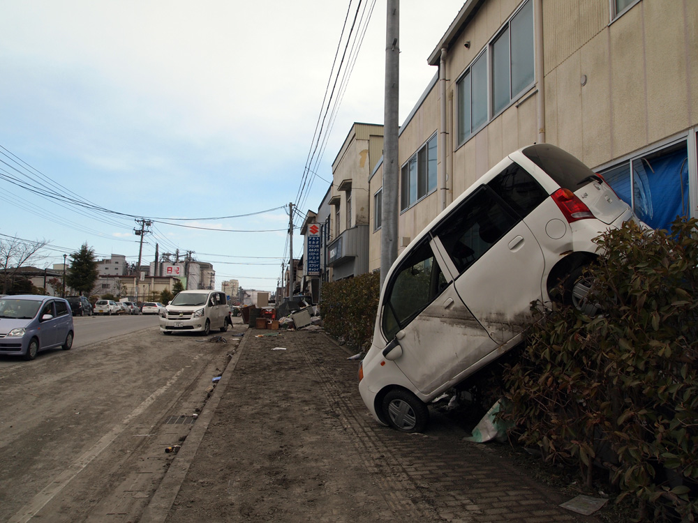 塩竃市の被災状況