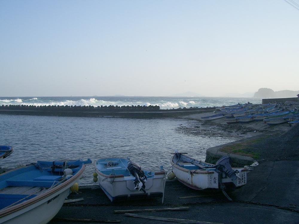 2007年10月大須漁港