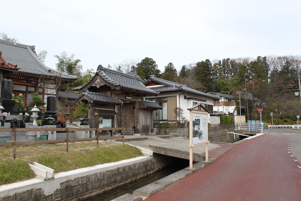 2012年11月の山門周辺