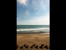 井土浜 ~空と海の間・現在の景色~