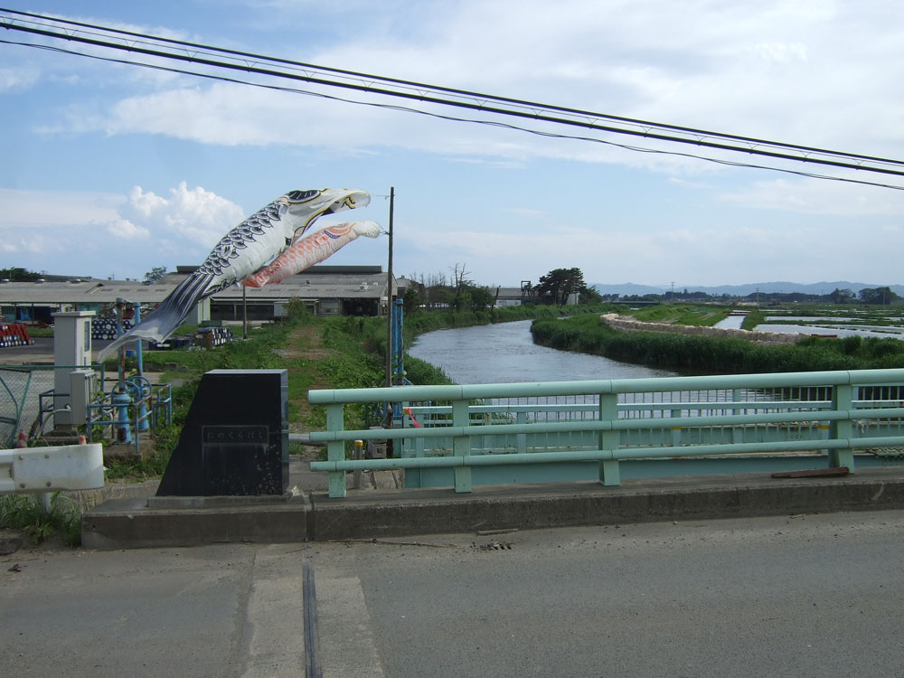 貞山運河(岩沼市)