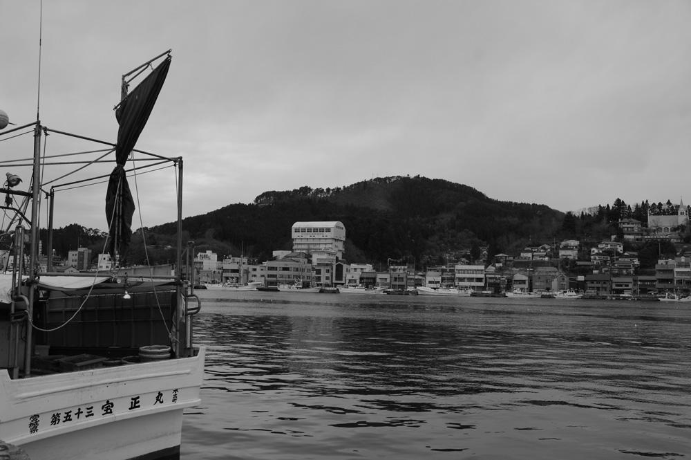 2010年12月気仙沼港