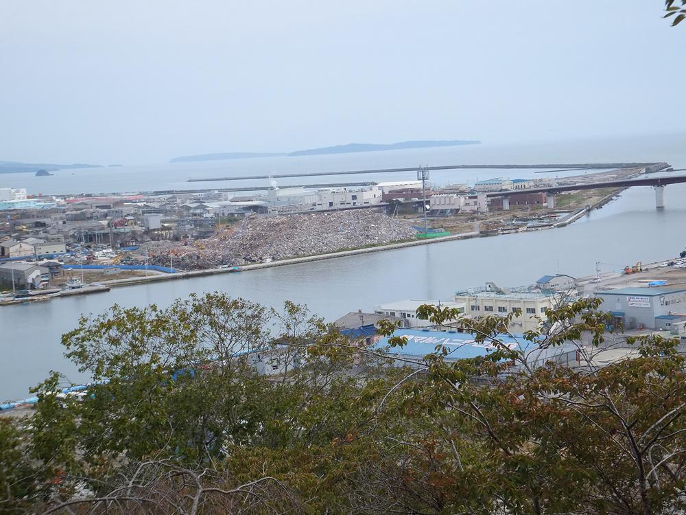 石巻 日和山からの風景