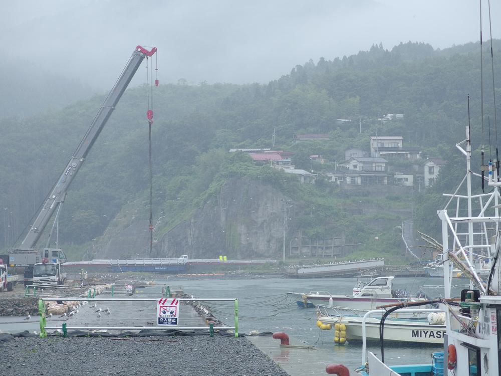 2013年7月女川港